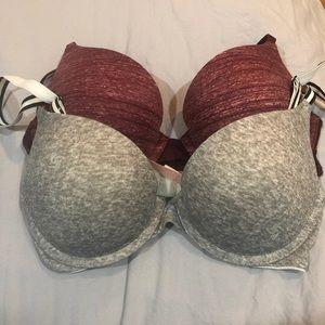 Victoria secret pink bras
